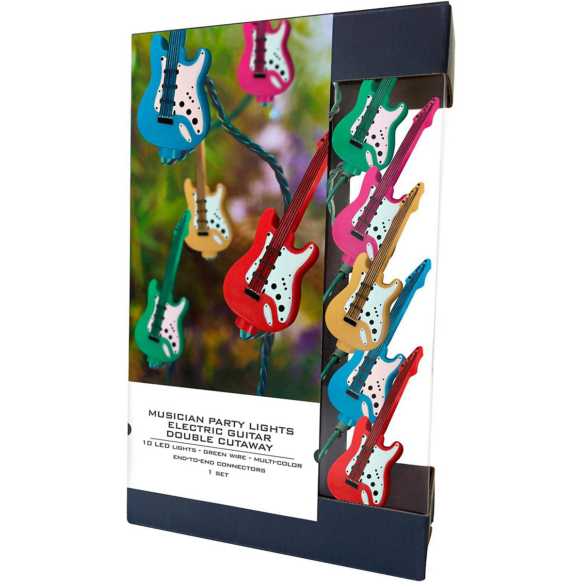 Axe Heaven Party Lights Electric Double-Cutaway Guitar LED Edition