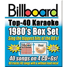 Sybersound Party Tyme Karaoke - Billboard 80's Box Set