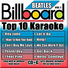 Sybersound Party Tyme Karaoke - Billboard Beatles Vol 1