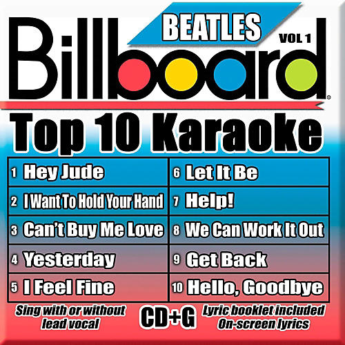 Sybersound Party Tyme Karaoke - Billboard Beatles Vol 1