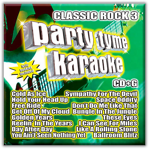Sybersound Party Tyme Karaoke - CLASSIC ROCK 3