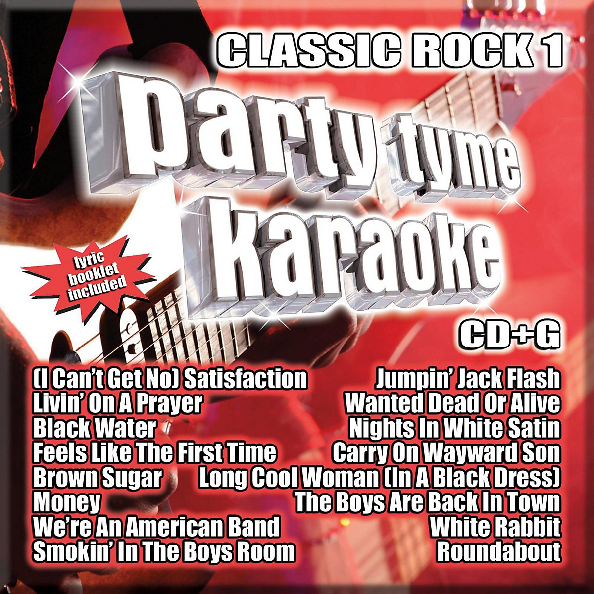 Sybersound Party Tyme Karaoke - Classic Rock 1