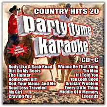 Sybersound Party Tyme Karaoke - Country Hits 20