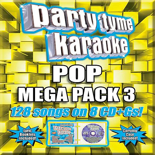 Sybersound Party Tyme Karaoke - Pop Mega Pack 3