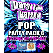 Sybersound Party Tyme Karaoke - Pop Party Pack 6