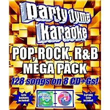 Sybersound Party Tyme Karaoke - Pop, Rock, R&B Mega Pack