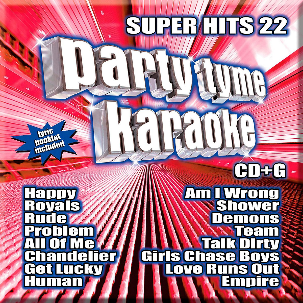 Sybersound Party Tyme Karaoke - Super Hits 22