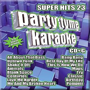 Sybersound Party Tyme Karaoke - Super Hits 24