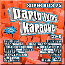Sybersound Party Tyme Karaoke - Super Hits 25