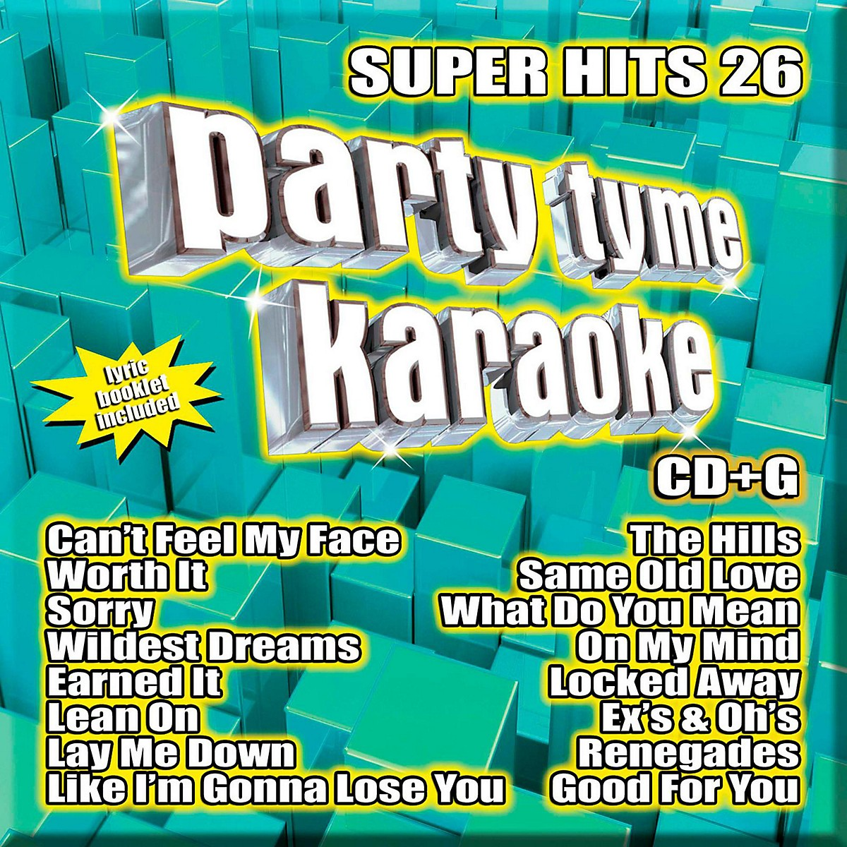 Sybersound Party Tyme Karaoke - Super Hits 26
