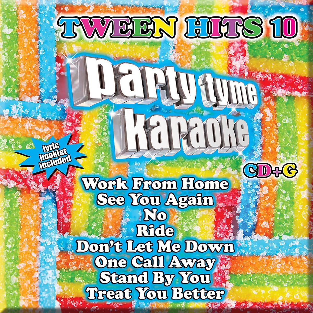 Universal Music Group Party Tyme Karaoke - Tween Hits 10