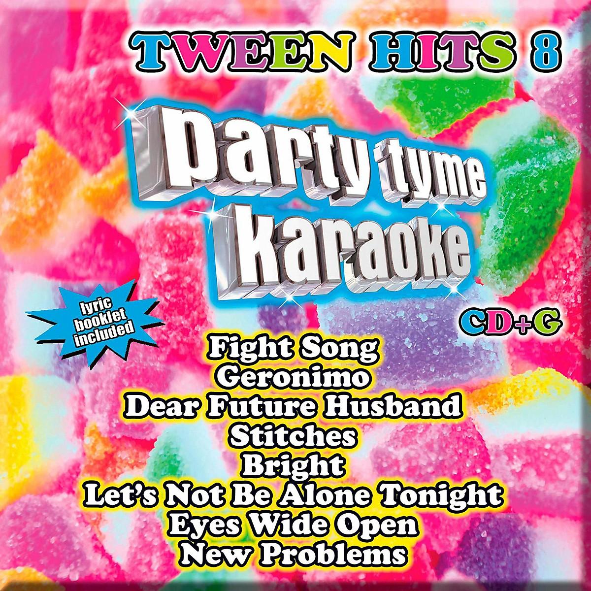 Sybersound Party Tyme Karaoke - Tween Hits 8