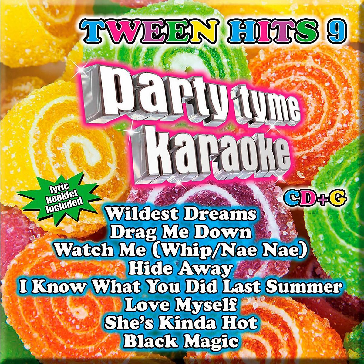 Sybersound Party Tyme Karaoke - Tween Hits 9