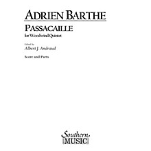 Southern Passacaille (Woodwind Quintet) Southern Music Series by Adrien Barthe