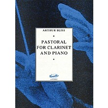 Novello Pastoral for Clarinet and Piano Music Sales America Series