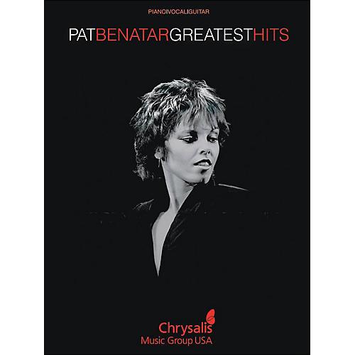 Hal Leonard Pat Benatar Greatest Hits arranged for piano, vocal, and guitar (P/V/G)