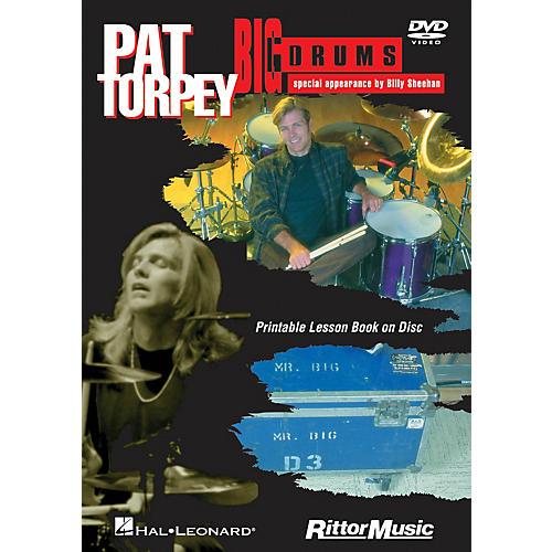 Rittor Music Pat Torpey - Big Drums DVD Series DVD Performed by Pat Torpey