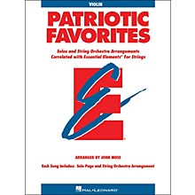 Hal Leonard Patriotic Favorites for Strings Violin Essential Elements