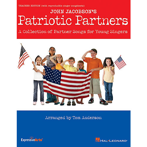 Hal Leonard Patriotic Partners Performance/Accompaniment CD Arranged by Tom Anderson