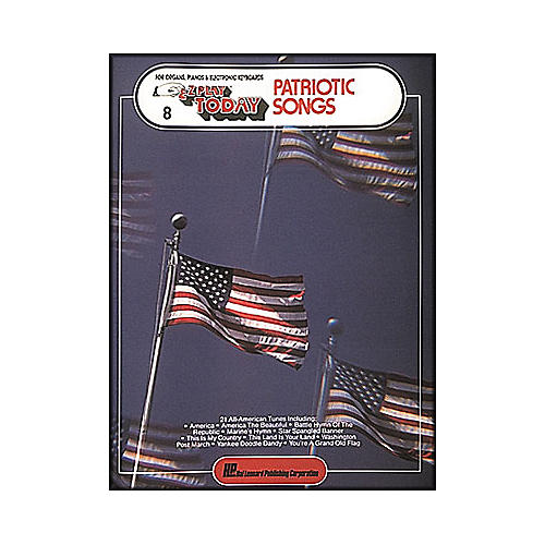 Hal Leonard Patriotic Songs E-Z Play 8