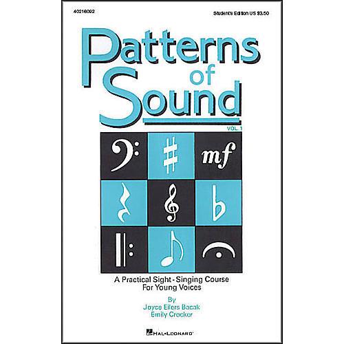 Hal Leonard Patterns Of Sound Vol 1 Student's Edition