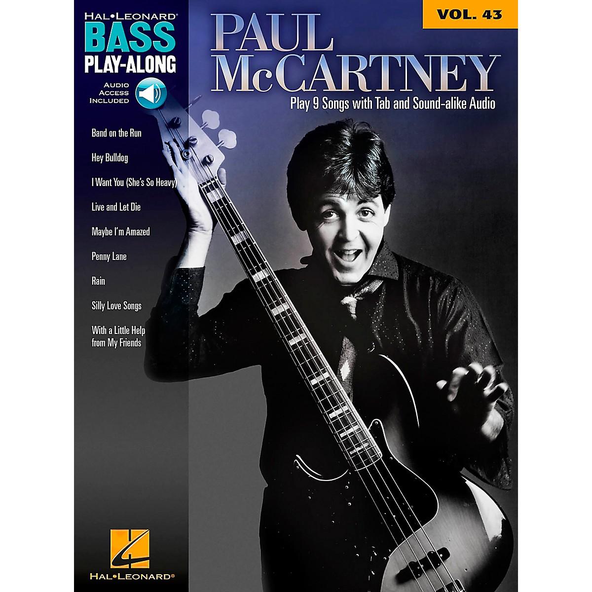 Hal Leonard Paul McCartney - Bass Play-Along Volume 43 Book/CD