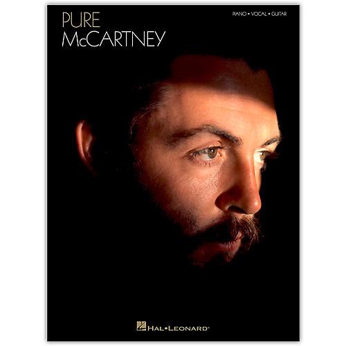 Hal Leonard Paul McCartney - Pure McCartney Piano/Vocal/Guitar Artist Songbook Series Softcover by Paul McCartney