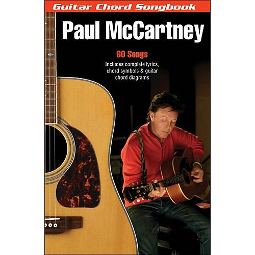 Hal Leonard Paul McCartney Guitar Chord Songbook