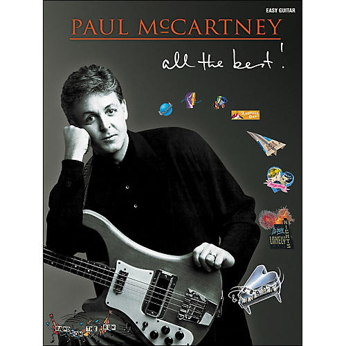 Hal Leonard Paul Mccartney - All The Best for Easy Guitar Tab