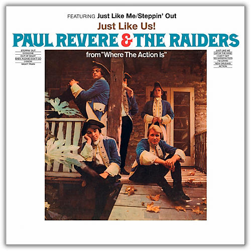 RED Paul Revere & The Raiders - Just Like Us