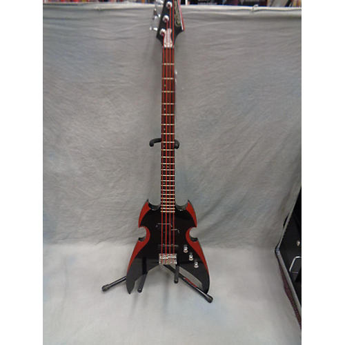 Silvertone Paul Stanley Apocalypse Electric Bass Guitar