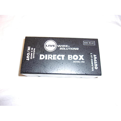 used live wire solutions pdi direct box direct box guitar center. Black Bedroom Furniture Sets. Home Design Ideas