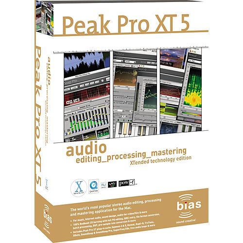 Bias Peak Pro XT 5