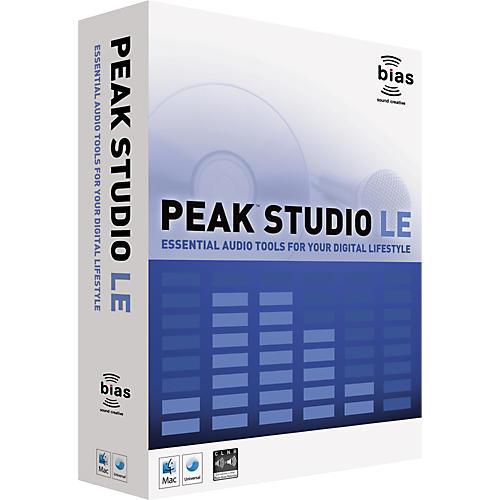 Bias Peak Studio LE