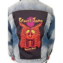 Dragonfly Clothing Pearl Jam - Tiki Torch - Womens Denim Jacket