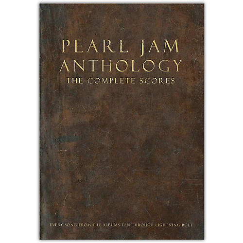 Hal Leonard Pearl Jam Anthology-The Complete Scores Deluxe Box Set