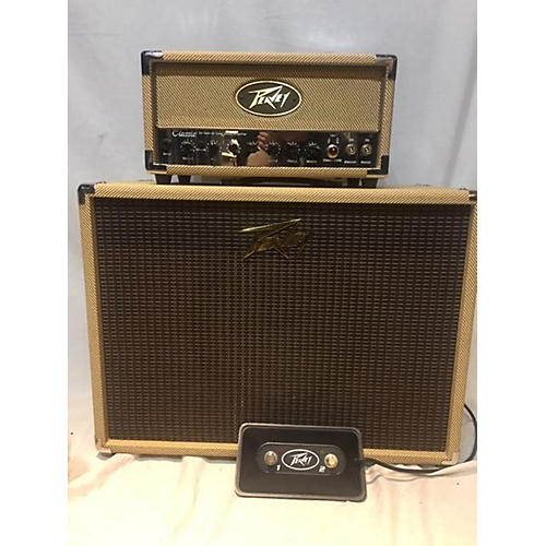 used peavey peavey classic 20 micro 20w tube guitar amp head with 60w 1x12 guitar speaker. Black Bedroom Furniture Sets. Home Design Ideas