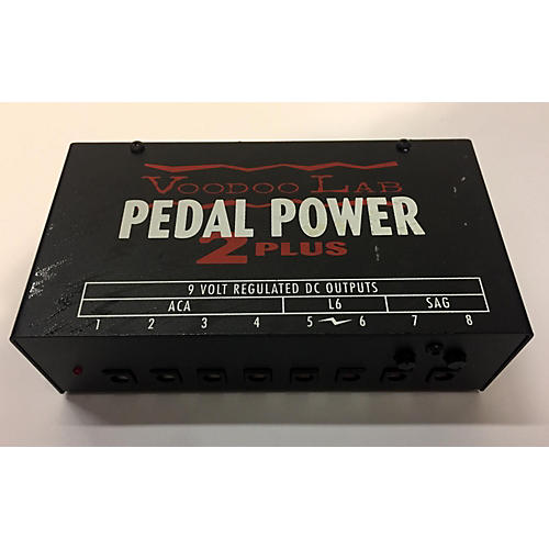 used voodoo lab pedal power 2 power supply guitar center. Black Bedroom Furniture Sets. Home Design Ideas