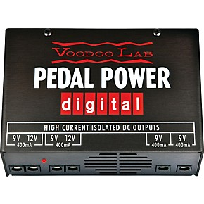 voodoo lab pedal power digital power supply guitar center. Black Bedroom Furniture Sets. Home Design Ideas