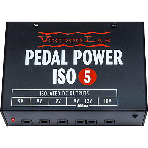 voodoo lab pedal power iso 5 power supply guitar center. Black Bedroom Furniture Sets. Home Design Ideas