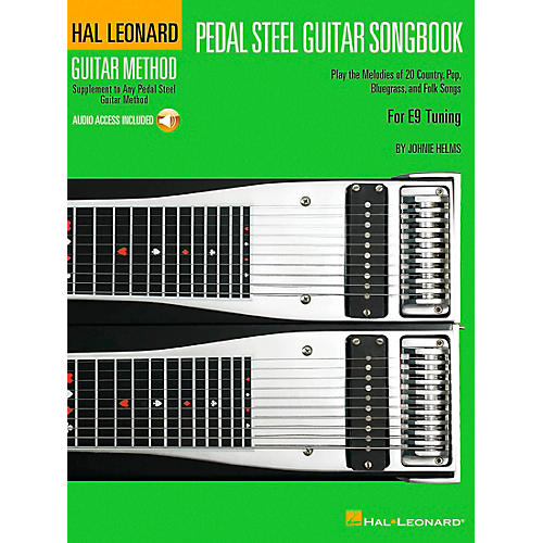 Hal Leonard Pedal Steel Guitar Songbook Supplement To The Pedal Steel Guitar Method Book/CD