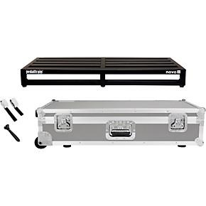 pedaltrain pedaltrain novo 32 pedal board with wheeled tour case guitar center. Black Bedroom Furniture Sets. Home Design Ideas