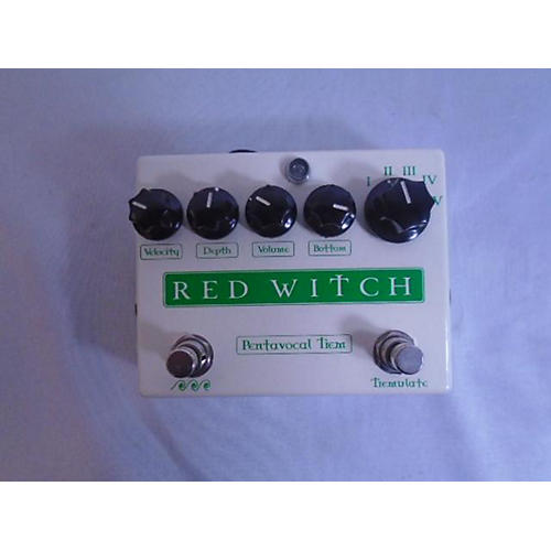 Red Witch Pentavocal Tremolo Modulation Effect Pedal