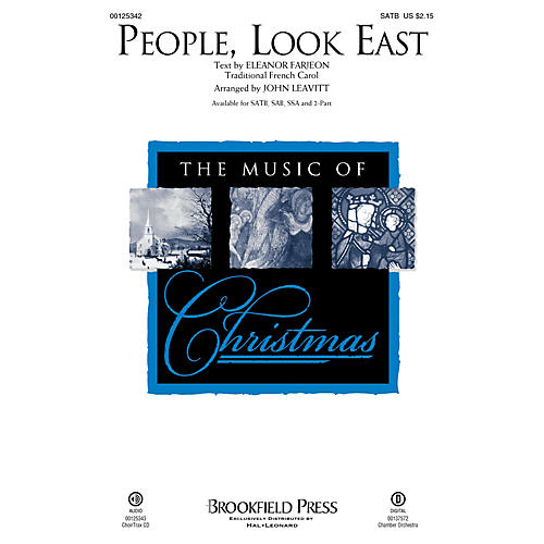 Brookfield People, Look East 2-Part Arranged by John Leavitt