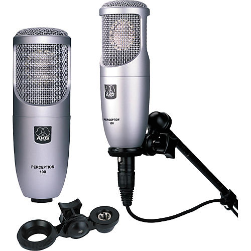 AKG Perception 100 Condenser Microphone 2 Pack