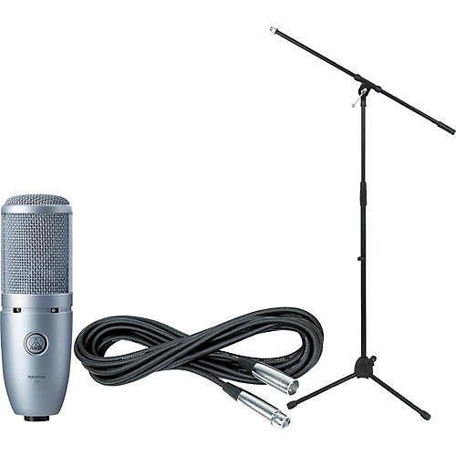 akg perception 120 condenser mic with cable and stand guitar center. Black Bedroom Furniture Sets. Home Design Ideas