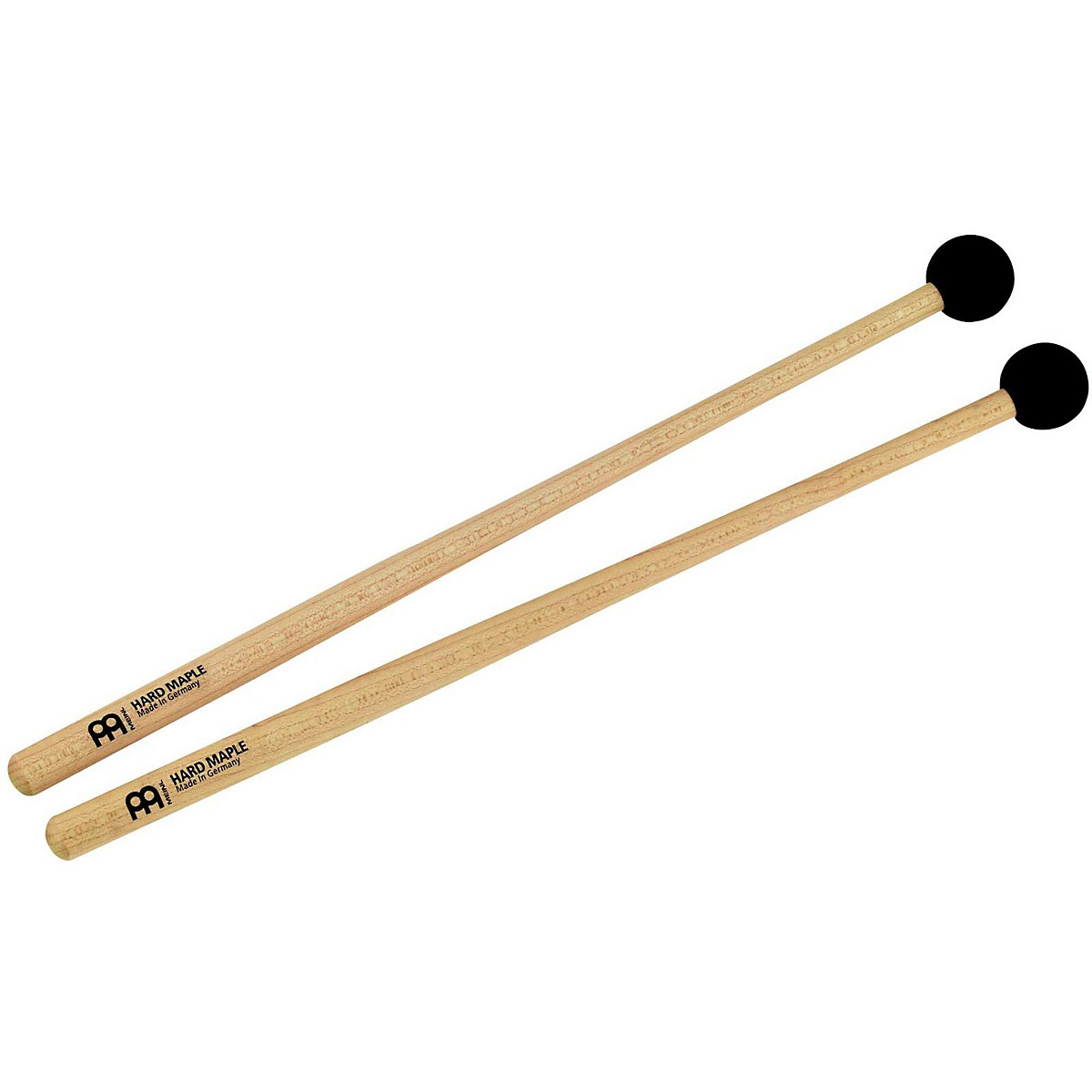 Meinl Percussion Mallet Pair with Small Soft Rubber Tips-Maple Handle