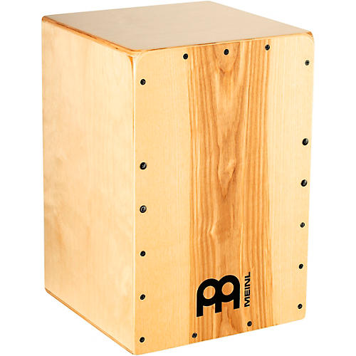 Meinl Percussion Snarecraft Series Cajon with Heart Ash Frontplate