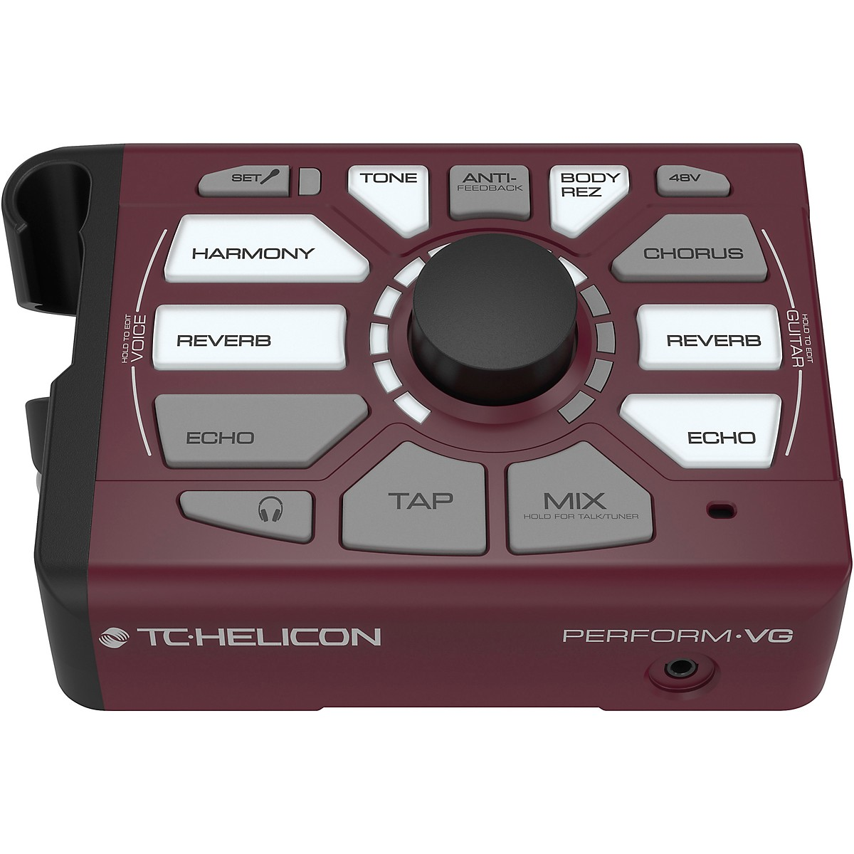 TC Helicon Perform-VG Mic Stand Mount Acoustic Guitar Processor