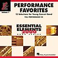 Hal Leonard Performance Favorites, Vol. 1 - Full Performance CD Concert Band Level 2 Composed by Various thumbnail